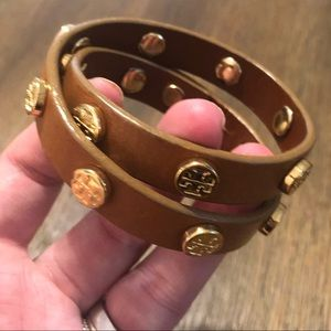 Tory Burch Adjustable Wrap Bracelet